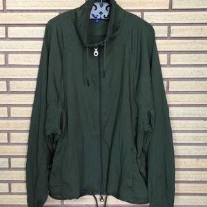 Khaki Green Windbreaker - Joy Lab - XL